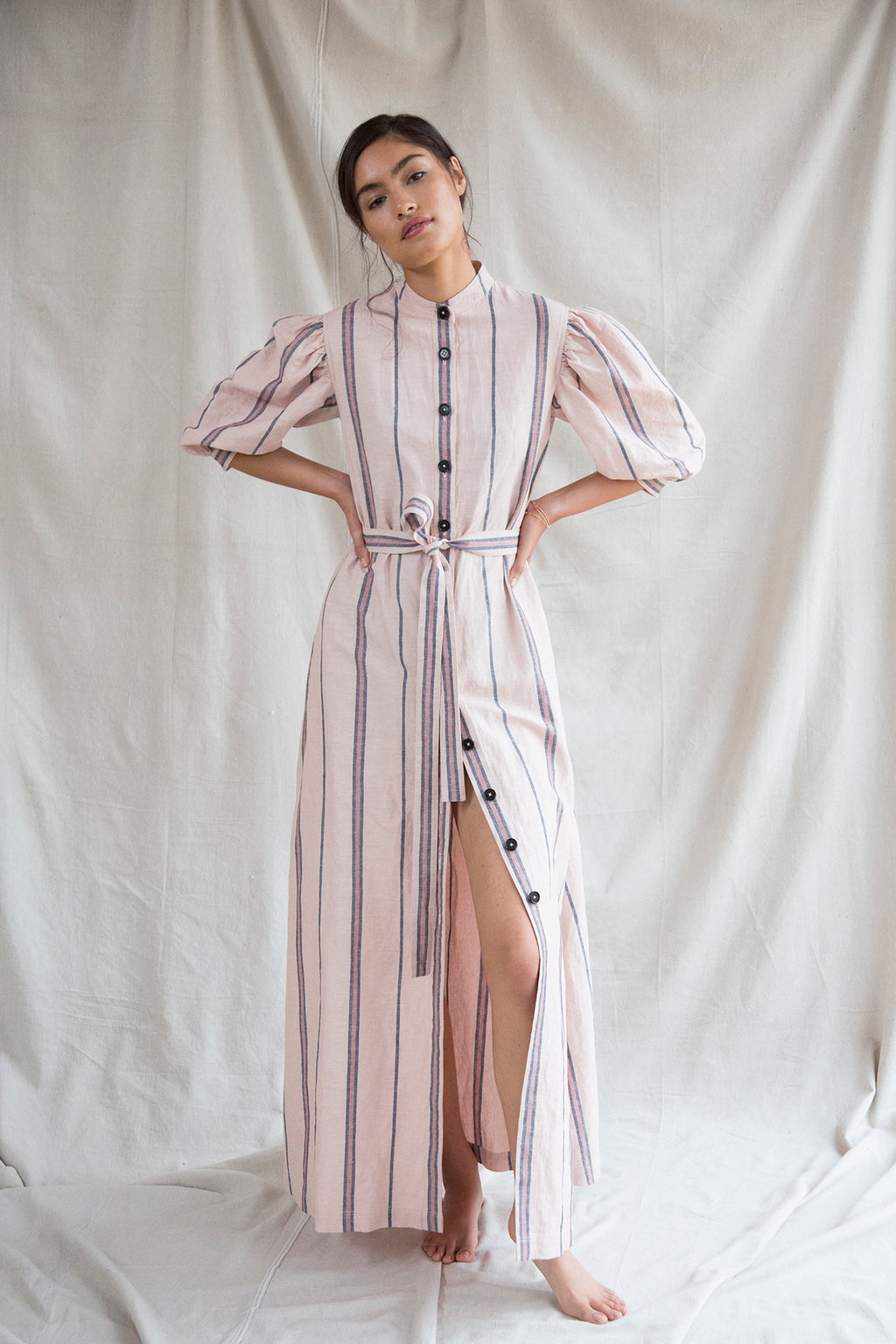 Ostara dress in Indian Rose