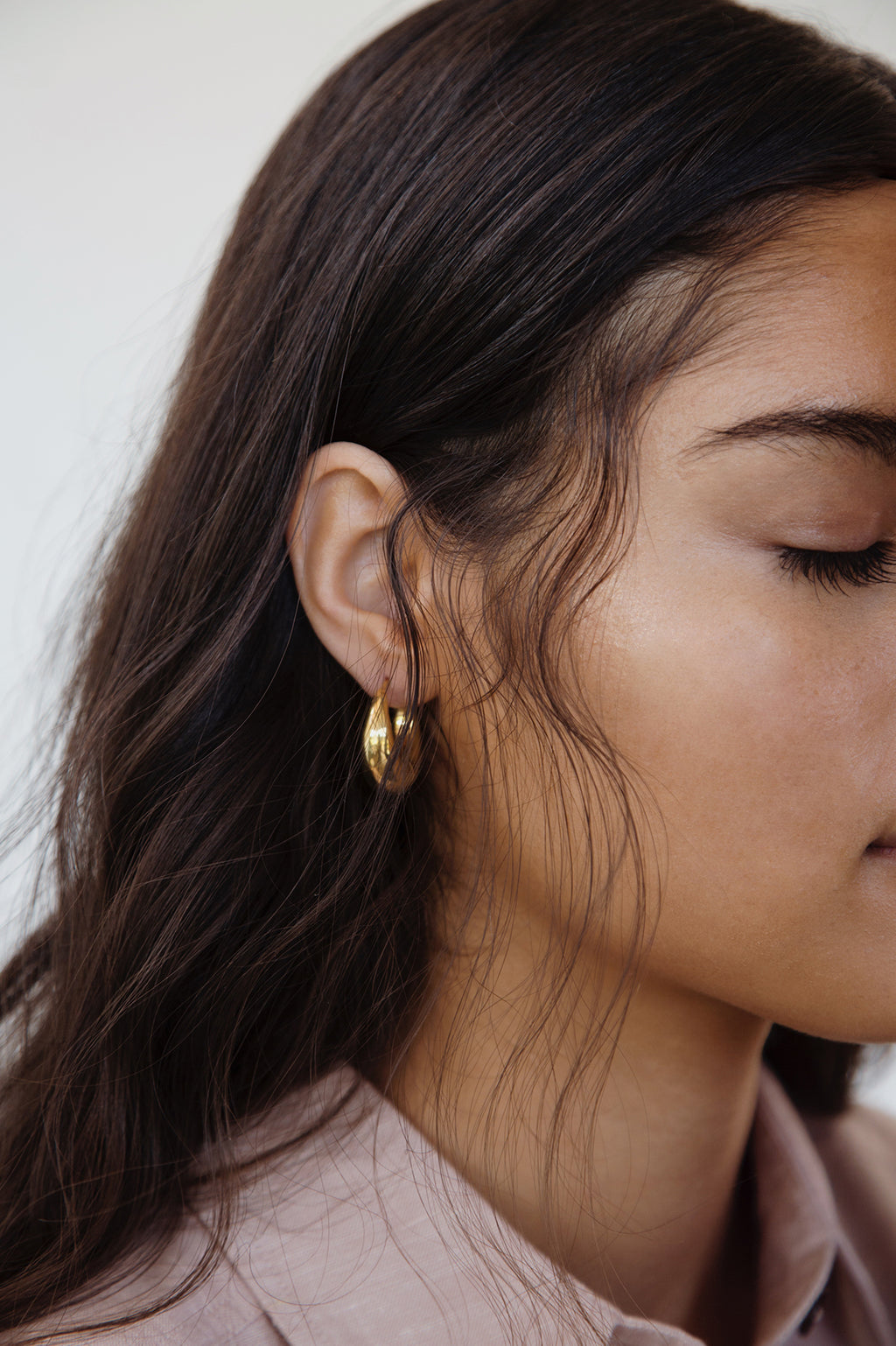 Sita hoop earrings