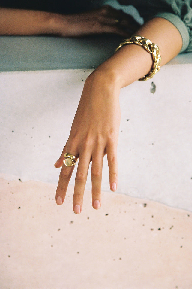 Aneeta signet ring (pre-order for dispatch mid Nov)