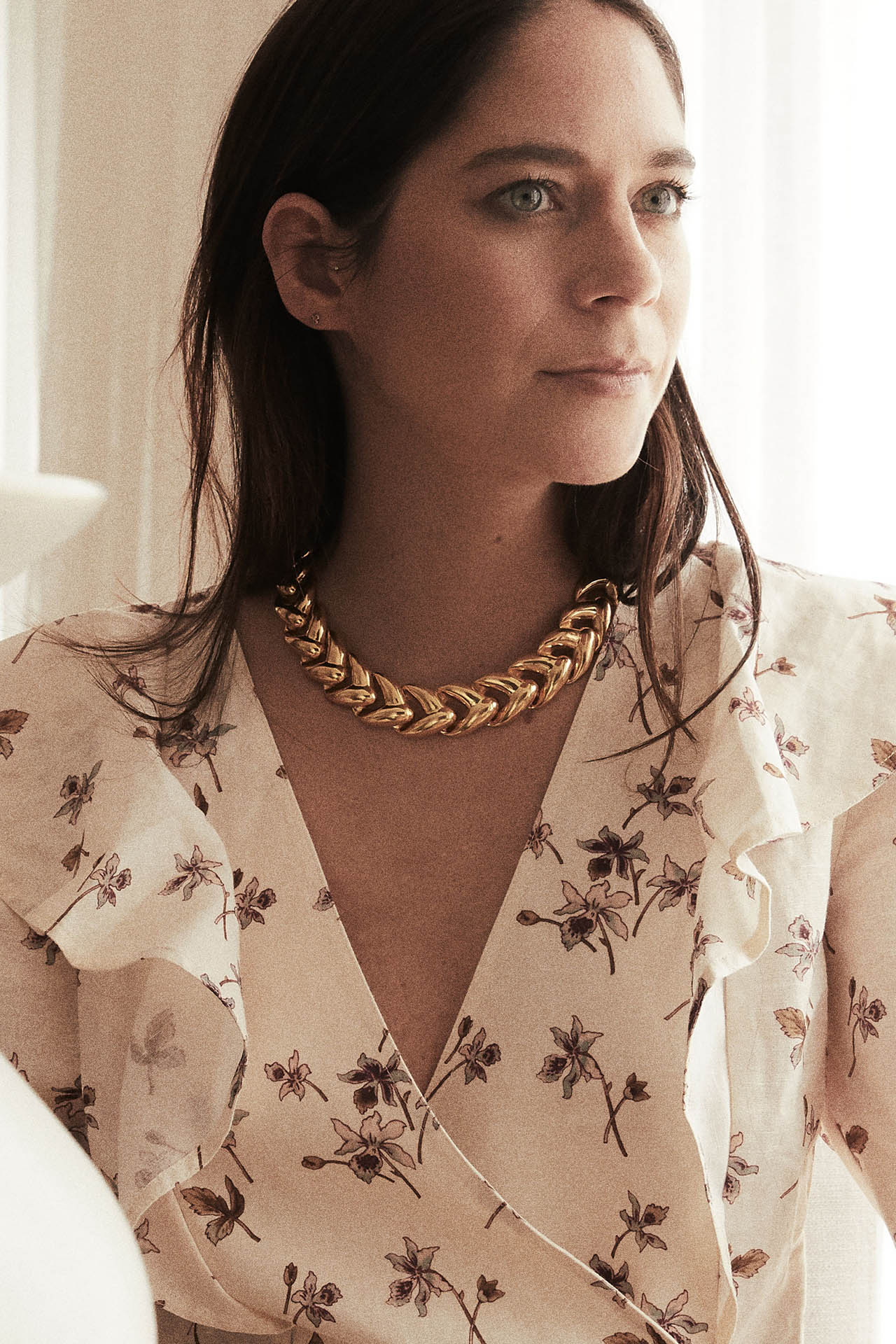 Juno Shirt in Floral Print