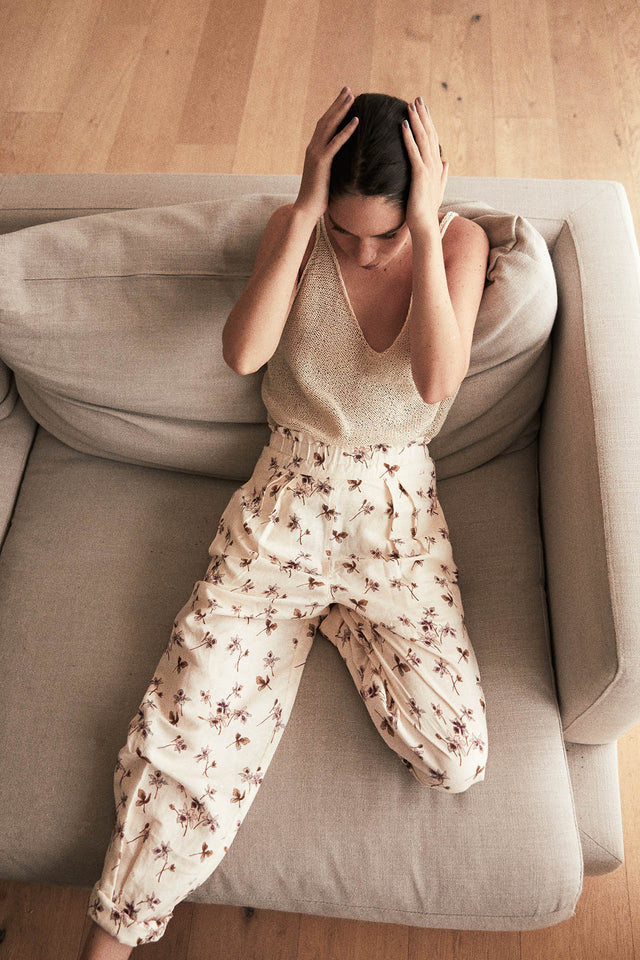 Maia Pants in Floral Print