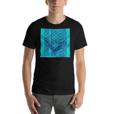 Boomer Blue Short-Sleeve Unisex T-Shirt