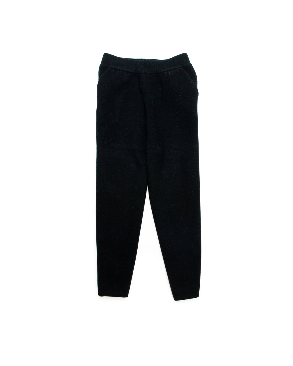 STRUCTURED WOOL PANTS