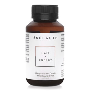 JSHealth Hair + Energy - 60 Capsules