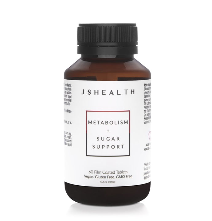 JSHealth Metabolism + Sugar Support - 60 Tablets