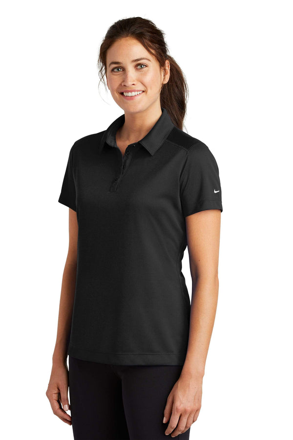 Nike® Ladies Dri-FIT Pebble Texture Polo