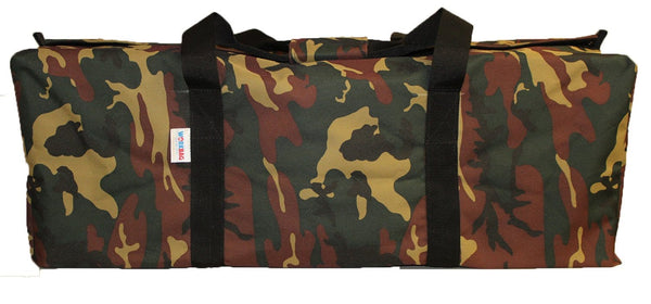 The Work Bag: Camo-Brown