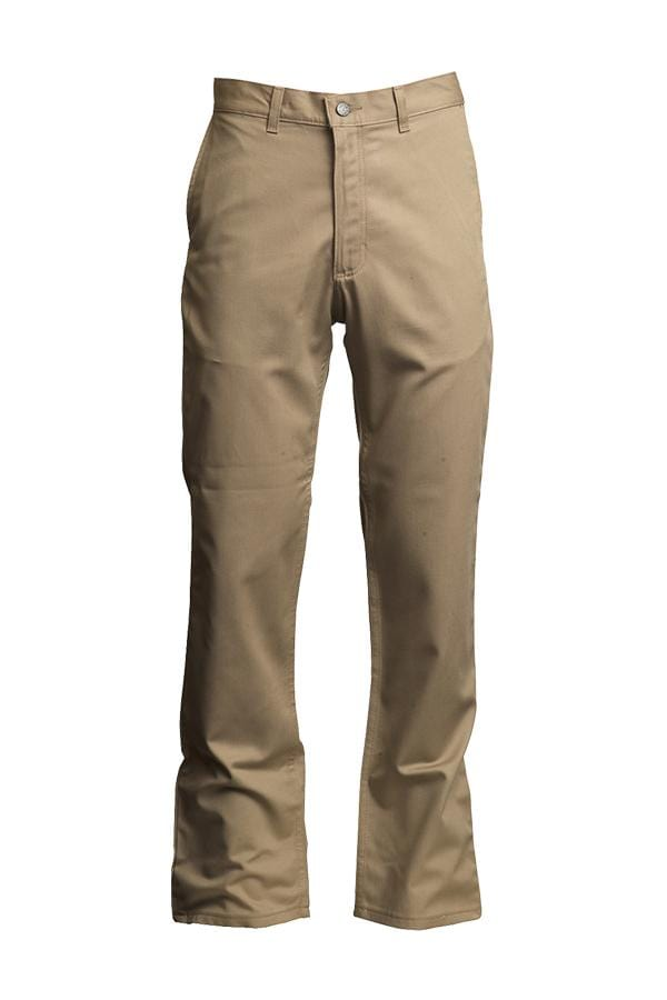 LAPCO FR™ Khaki Uniform Pants I 7 oz. Westex UltraSoft AC®