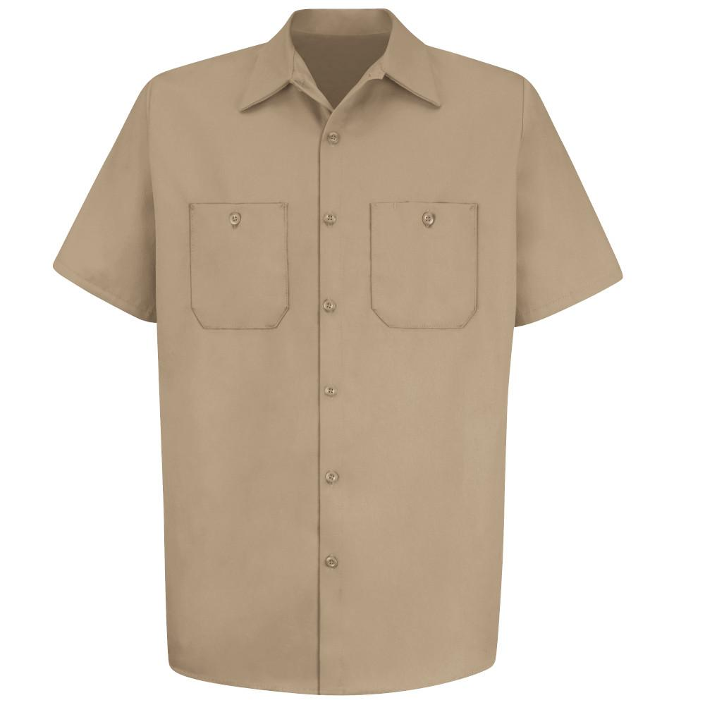 Red Kap® S/S Wrinkle-Resistant Cotton Work Shirt
