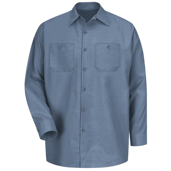 Red Kap® L/S Industrial Solid Work Shirt