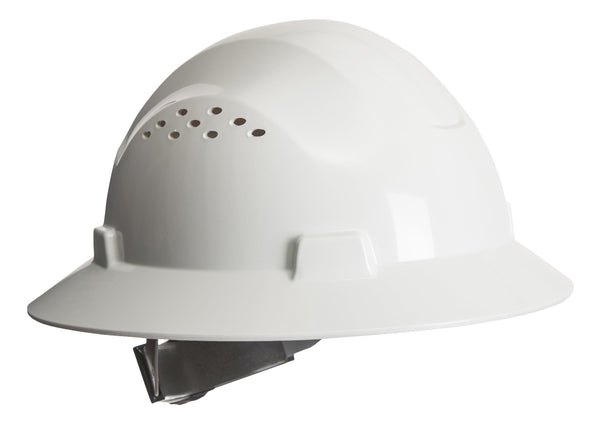 PORTWEST® Full Brim Premier Hard Hat - (Vented)