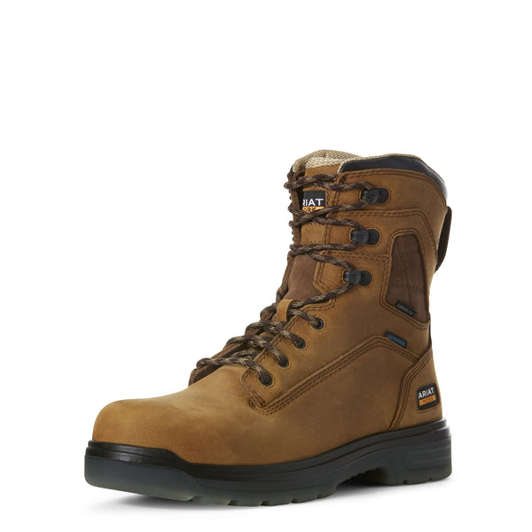 "Ariat® Turbo 8"" Waterproof Carbon Toe Work Boot"