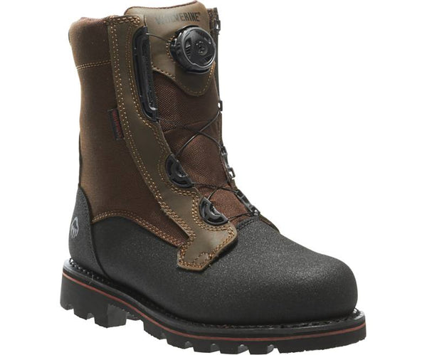 WOLVERINE MEN'S WATERPROOF STEEL-TOE WORK BOOT