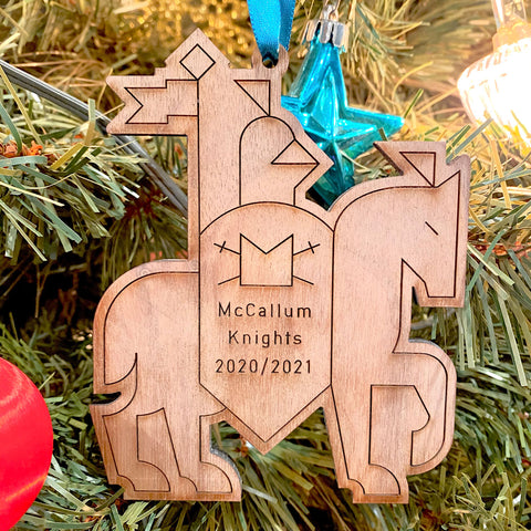 McCallum Knights Commemorative Ornament - 2020/2021