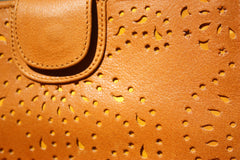 Tooled Handcut Leather