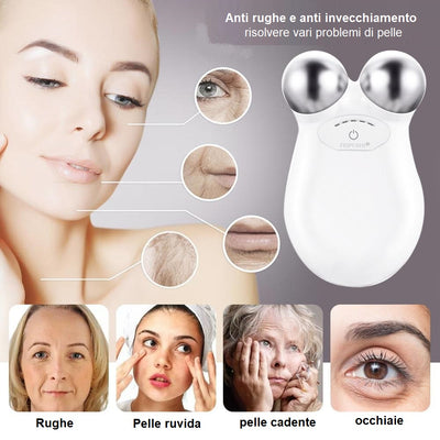 MASSAGGIATORE A MICROCORRENTI FACE LIFTING