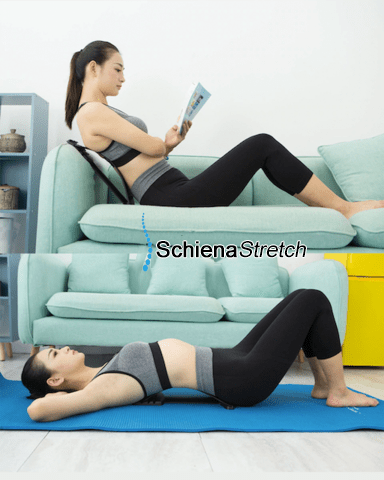 SCHIENASTRETCH™ Il segreto per un sollievo immediato e duraturo!