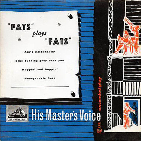 """Fats"" Waller & His Rhythm* : ""Fats"" Plays ""Fats"" (7"", EP)"