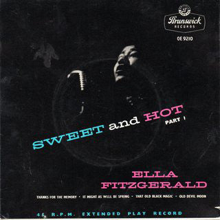 "Ella Fitzgerald : Sweet And Hot Part 1 (7"", EP)"