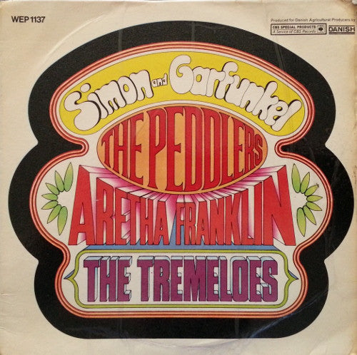 "Various : Simon And Garfunkel / The Peddlers / Aretha Franklin / The Tremeloes (7"", EP)"