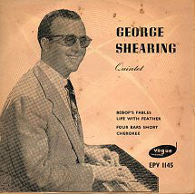 "The George Shearing Quintet : George Shearing Quintet (7"", EP)"
