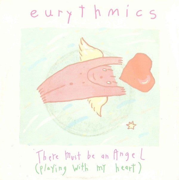 "Eurythmics : There Must Be An Angel (Playing With My Heart) (7"", Single)"