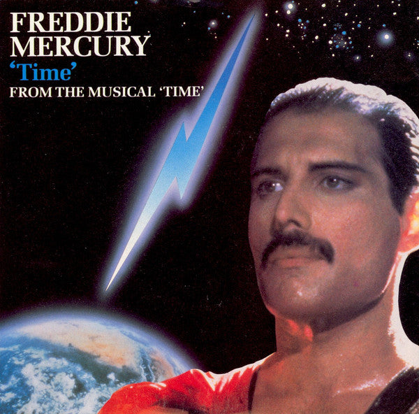 "Freddie Mercury : Time   (7"", Single)"