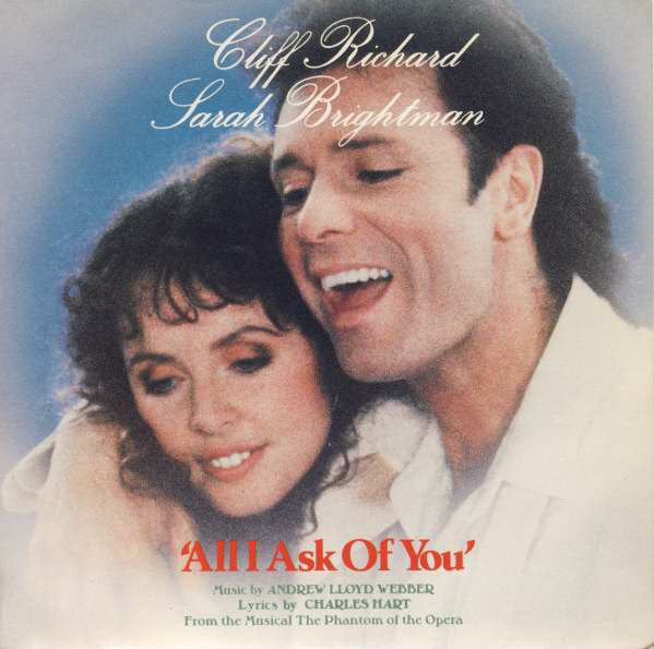 "Cliff Richard, Sarah Brightman : All I Ask Of You (7"", Single, Glo)"