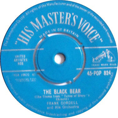 "Frank Cordell And His Orchestra* : The Black Bear (7"")"
