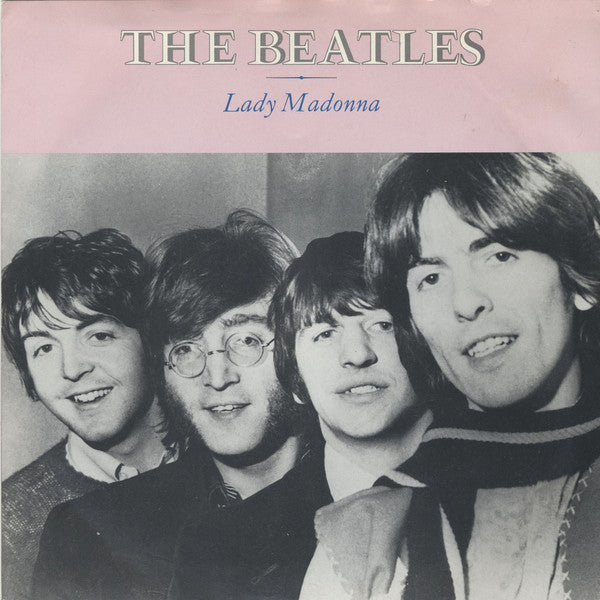 "The Beatles : Lady Madonna (7"", Single, RE, Sol)"