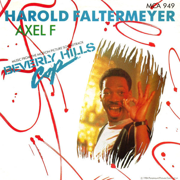 "Harold Faltermeyer : Axel F (7"", Single, Pap)"