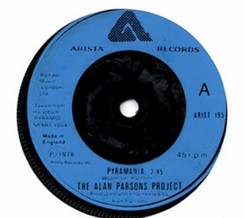"The Alan Parsons Project : Pyramania (7"", Single)"