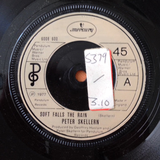 "Peter Skellern : Soft Falls The Rain (7"")"
