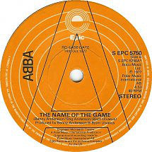 "ABBA : The Name Of The Game (7"", Single, Promo)"