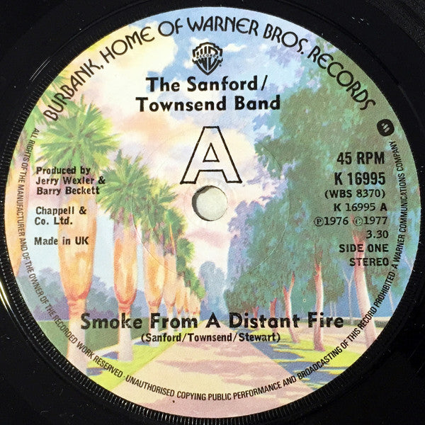 "The Sanford/Townsend Band* : Smoke From A Distant Fire / Lou (7"")"