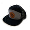Trucker Hat - Heather Grey/Black/Black Mesh - Flat Brim