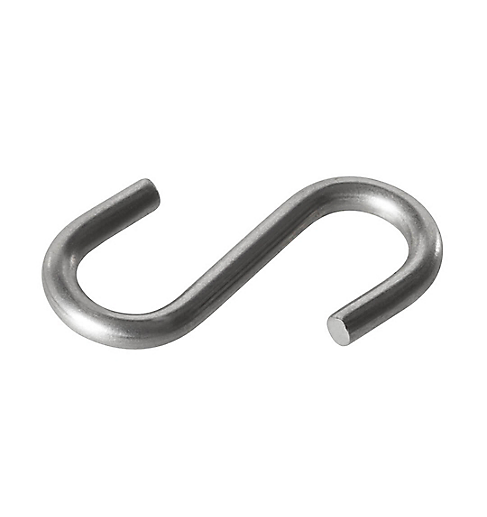 S Hook, Stainless Steel