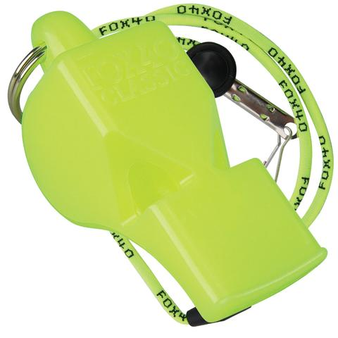 Fox 40 Whistle with Lanyard