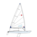 Laser Radial XD with Composite Upper Mast