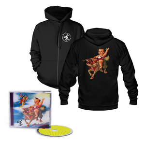 Purple 25th Anniversary Hoodie + Music Bundle