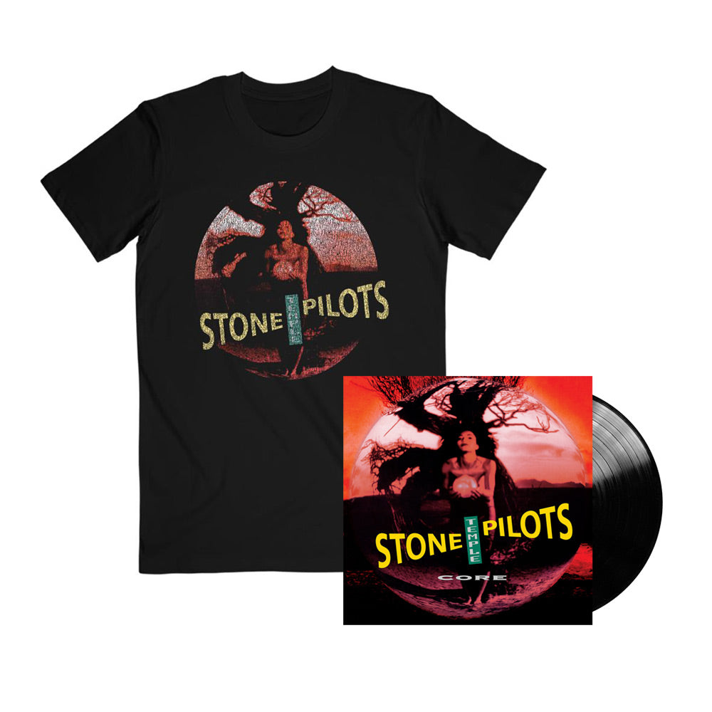 STP Core Circle Tee and Vinyl Bundle