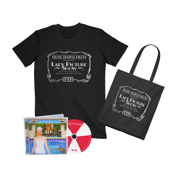 Lady Picture Show Tee & Tote + Choose Your Music Bundle