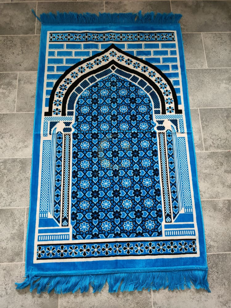 Adult Prayer Mat (Blue)