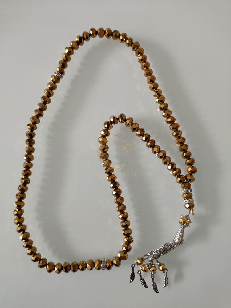 Gold Tasbeeh 99 Beads