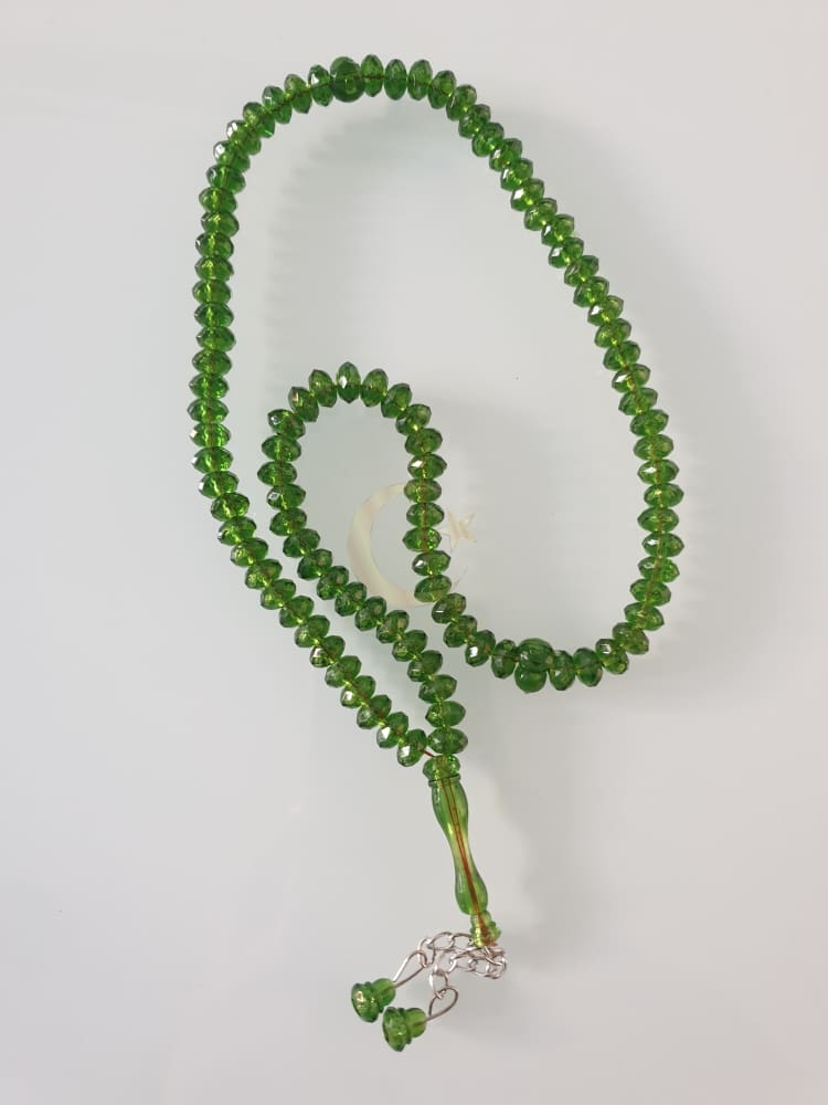 Green Tasbeeh 99 Beads