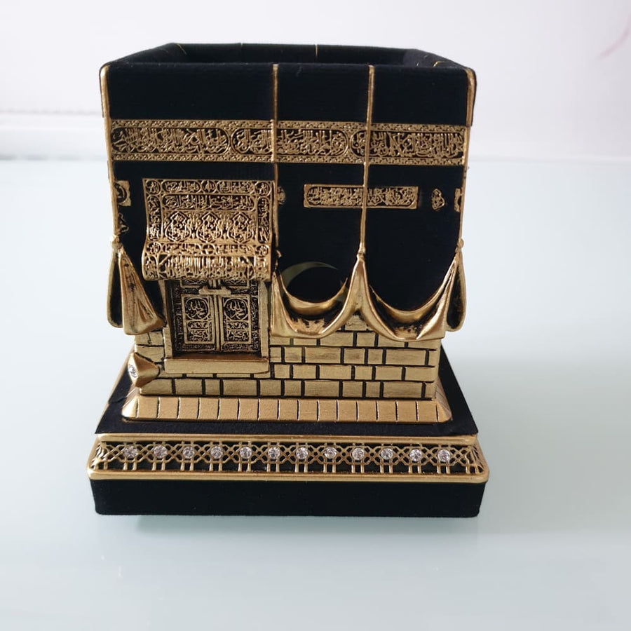 Kaaba Replica - (Gold & Black)
