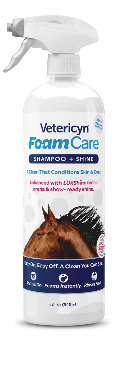 Vetericyn's Foam Care Shampoo - 32 oz - Animal Health Express