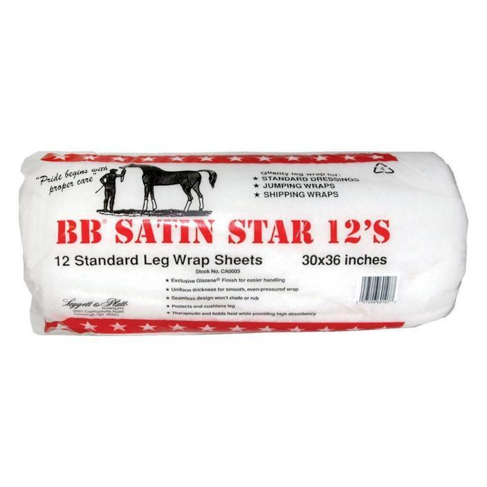 BB Satin Star Leg Wrap Sheets - Vaquera