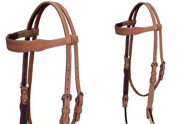Cactus Saddlery Roughout Headstall - Animal Health Express