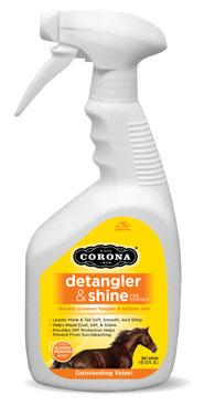 Corona Detangler and Shine - Animal Health Express